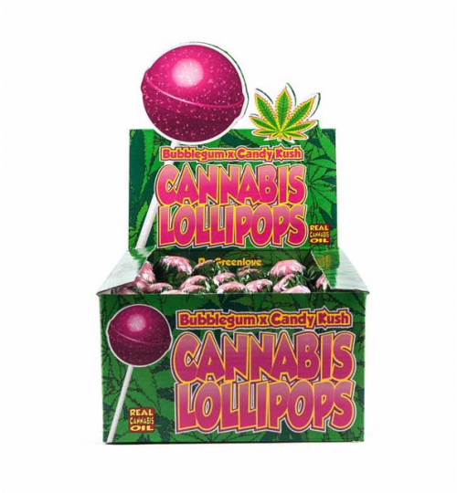 Lollipop Bubblegum + Candy Kush