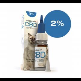CBD Öl für Katzen 2% - 10ML - 200mg